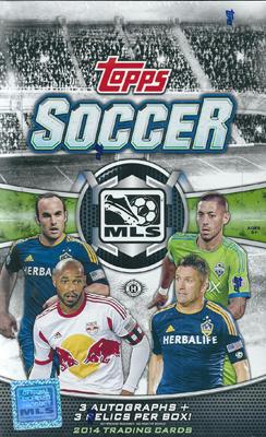 (セール)SC 2014 Topps MLS ボックス (Box)