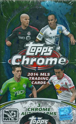 2014 Topps MLS Chrome Soccer ボックス(Box)