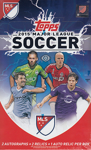 (セール)SOCCER 2015 Topps Major League Soccer (MLS)