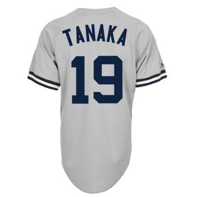 【送料無料】 田中将大 レプリカ ユニフォーム (ヤンキース/ロード/#19) / Masahiro Tanaka (サイズ M)