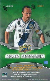 サッカー 2012 UD Soccer ボックス (Box)