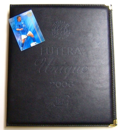 SOCCER 2006 Futera Unique Collection 専用レザーアルバム