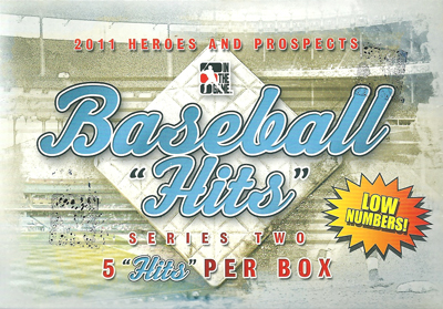 2011 In The Game Baseball Hits Series2 ボックス (Box) 8/5入荷