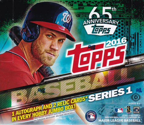 Baseball 2016 Series MLB Topps 送料無料、2/3入荷! 1 Jumbo