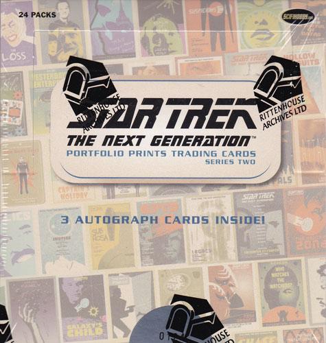 スタートレック Rittenhouse 2016 Star Trek The Next Generation :Portfolio Prints Trading Cards Series 2 送料無料、8/3入荷!