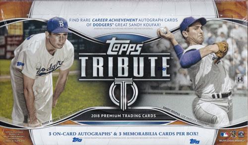 MLB 2018 Topps Tribute Baseball 3/28入荷!大谷翔平選手ラインナップ!