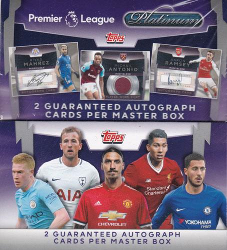 サッカー 2018 Topps England Premier League Platinum Soccer 送料無料 5/23入荷!
