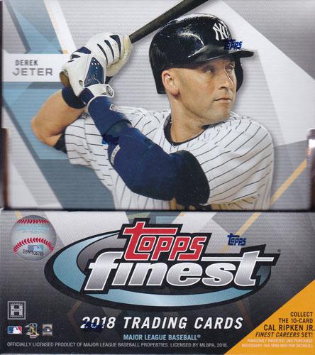MLB 2018 Topps Finest Baseball 6/6入荷