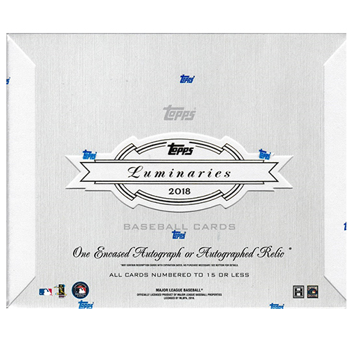 MLB 2018 Topps Luminaries Baseball 9/10再入荷!