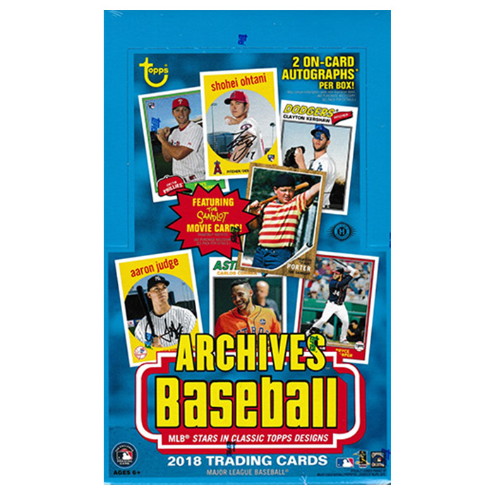 MLB 2018 Topps Archives Baseball 10/24入荷!