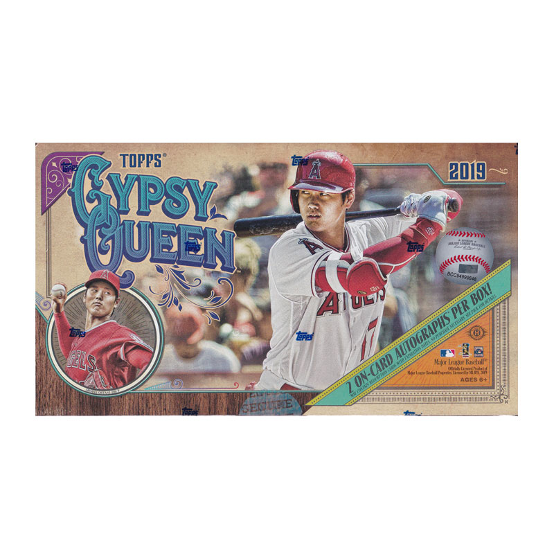 MLB 2019 Topps Gypsy Queen Baseball 3/27入荷!