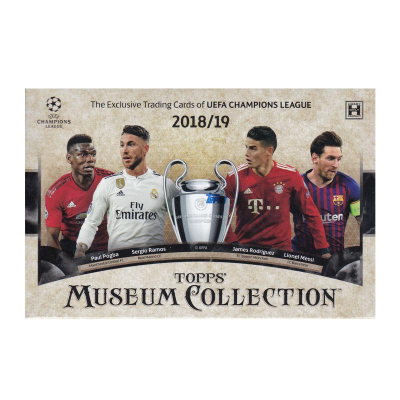 サッカー 2018-19 Topps UEFA Champions League Museum Collection Soccer 送料無料 6/5入荷!