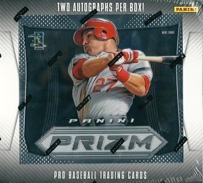 2012 Panini Prizm Baseball ボックス (Box)