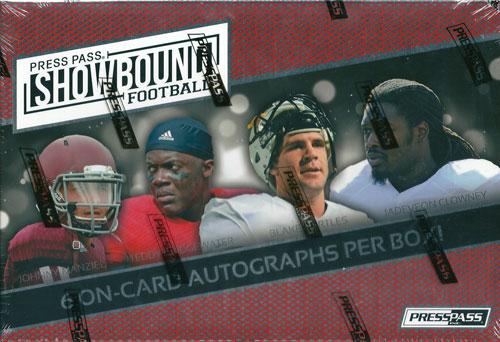 2014 Press Pass Showbound Football ボックス (Box) ★5/7入荷!