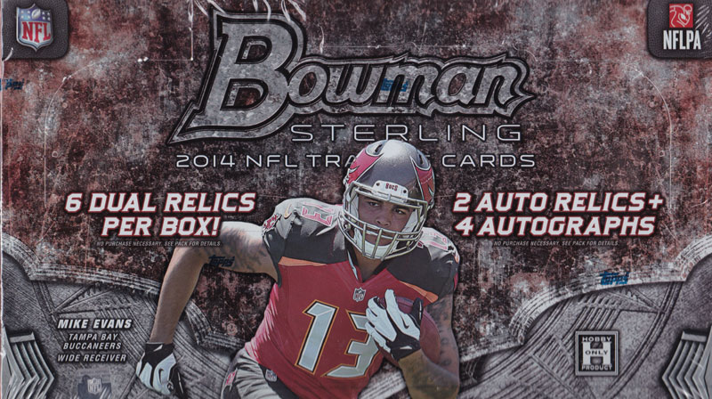 (セール)NFL 2014 Bowman Sterling Football ボックス(Box)