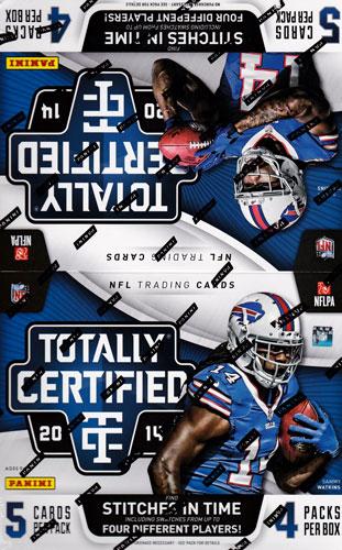 NFL 2014 Panini Totally Certified Football ボックス (Box)