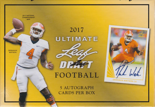 2017 Leaf Ultimate Football ボックス(Box) 4/17入荷!