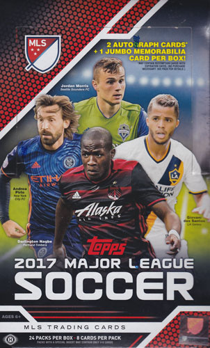 2017 Topps Major League Soccer ボックス(Box) 4/22入荷!