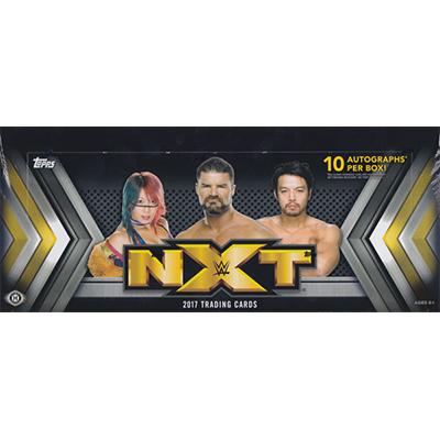 (セール)プロレスカード 2017 Topps WWE NXT トレーディングカード ボックス (Box)