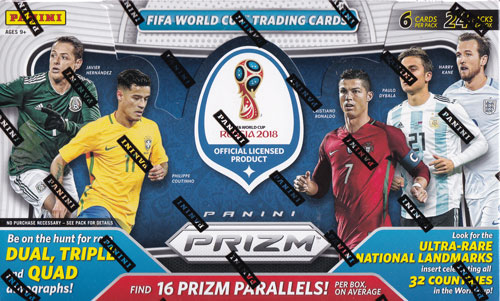 2018 Panini Prizm World Cup Soccer 4/27入荷!