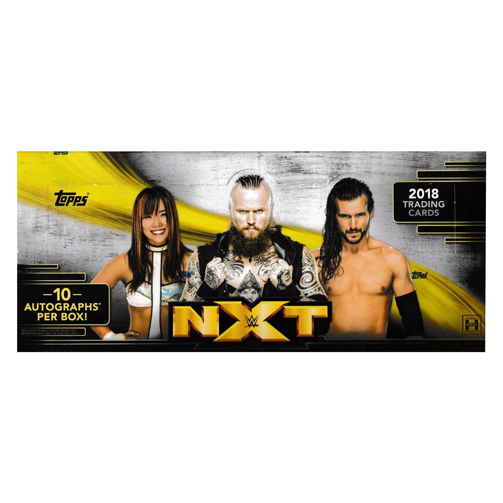 プロレスカード 2018 Topps WWE NXT ボックス (Box) 、9/26入荷!