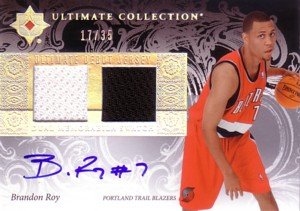 Brandon Roy 2006/07 Ultimate Collection Debut Jerseys Autographs 35枚限定!