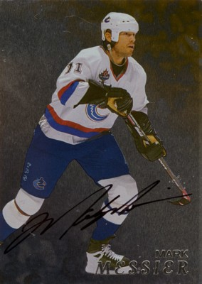 マーク・メシア Mark Messier 1998/99 Be A Player Autographs