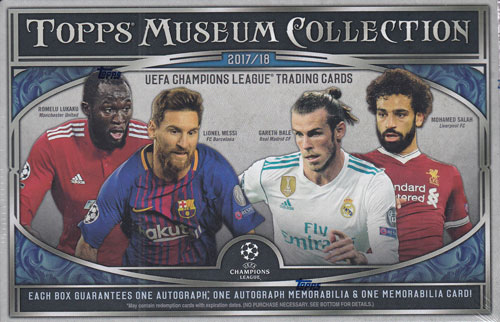 2017-18 Topps UEFA Champions League Museum Collection Soccer 7/20入荷!