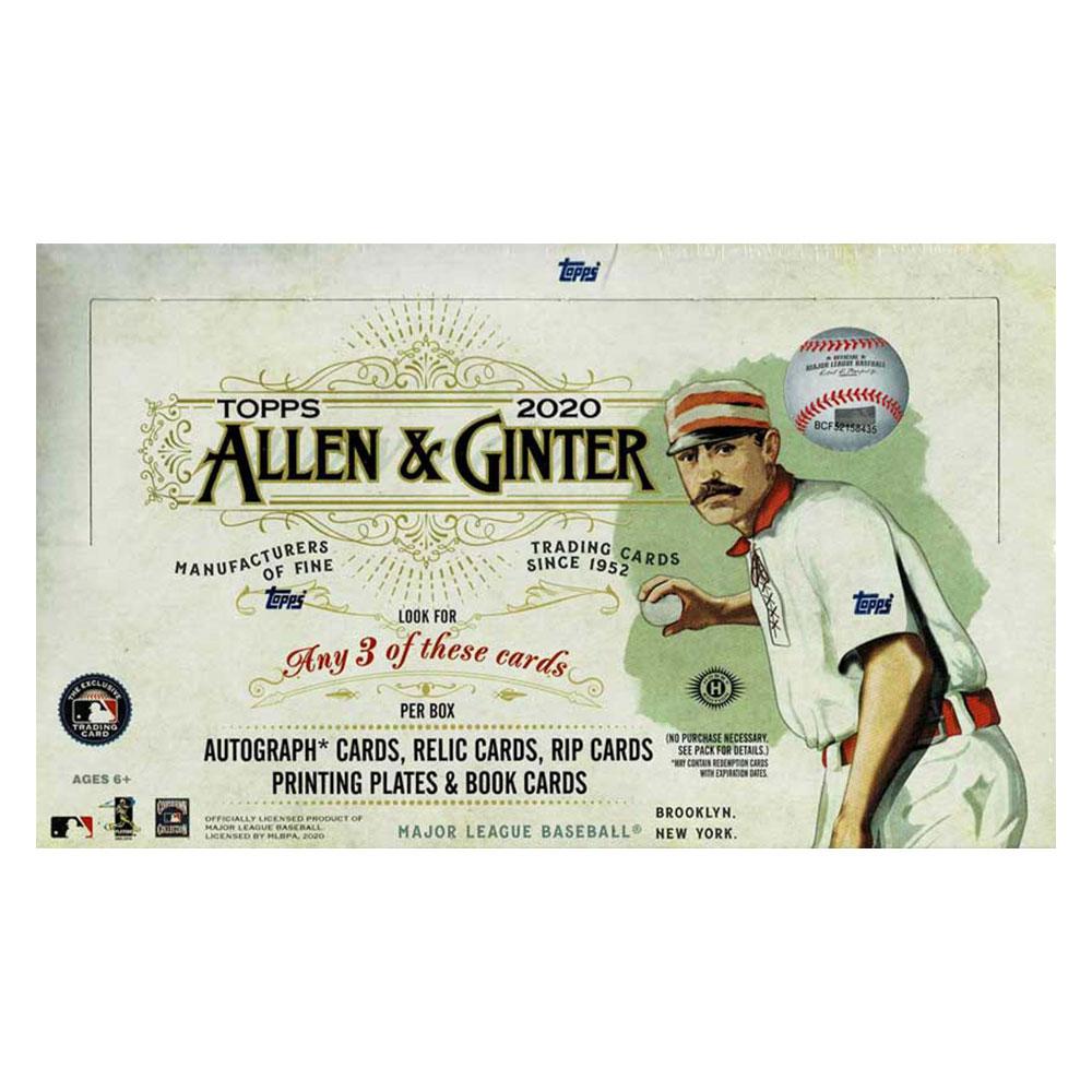 MLB 2020 新色 Topps Allen Ginter 日本製 16より発売中 送料無料 Baseball 9