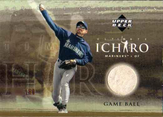 イチロー 2001 Upper Deck Ultimate Collection Ball Card /150 Ichiro