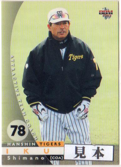 BBM2003 スーパーSALE セール期間限定 25%OFF 阪神タイガース 200円カード レギュラーカード