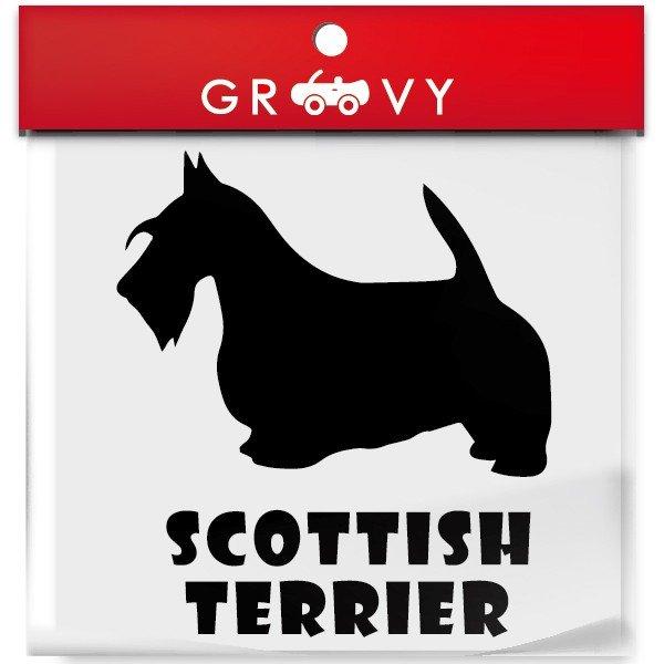 ついに再販開始 スコティッシュテリア犬ステッカー スコティッシュテリア 犬 ステッカー 車 エンブレム シール デカール 給油口 ミラー アクセサリー ガラス 雑貨 かっこいい グッズ おしゃれ おもしろ 当店一番人気 アウトドア ブランド