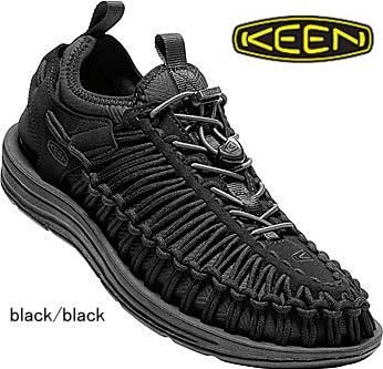 送料無料 KEEN キーンユニーク O2 HTIスニーカー1018027 black/black メンズ スポーツ スニーカーキャンプ  アウトドア