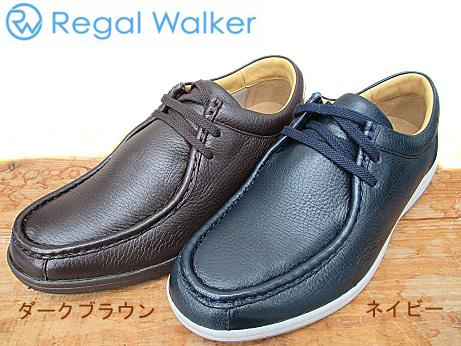 人気商品 送料無料301WBF REGALWALKER リーガルウォーカー2アイレット 鹿革 ビジネスシューズ メンズ