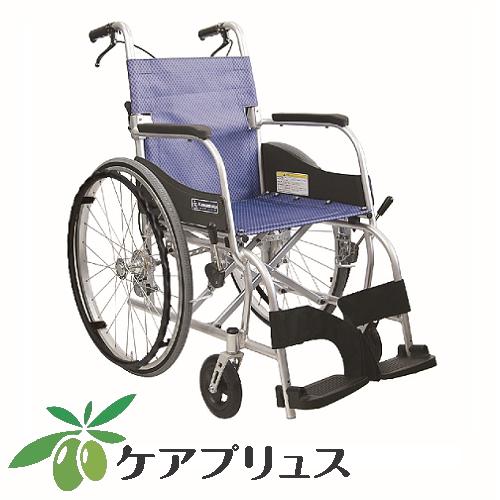 アルミ自走用車いす ふわりす KF22-40SB(自走式)
