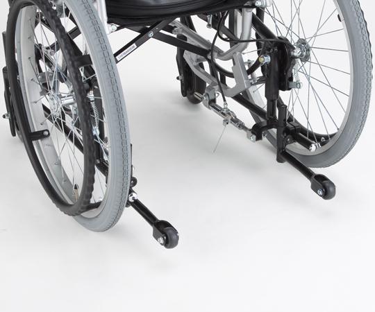 ティルト車椅子 NA-F7用転倒防止装置【8-2736-11】