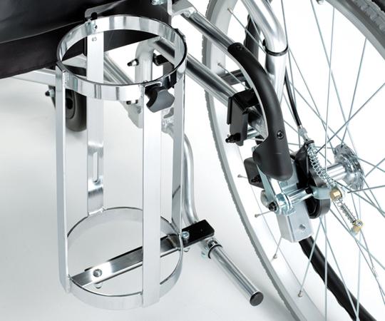 【送料無料】横乗り車椅子用ボンベ架 MS-0016【8-2738-13】