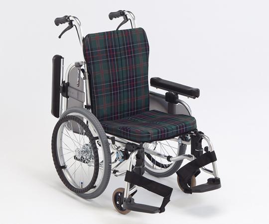 【送料無料】超低床コンパクトセミモジュール車椅子(ミニモ・アルミ製)【8-2739-01/8-2739-02/8-2739-03】