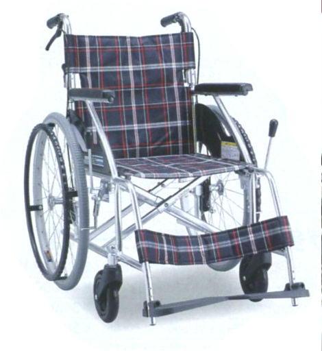 【車いす 自走式 ノーパンクタイヤ】【代引き不可】車椅子 アルミ製 背折れタイプ【自走式車椅子 ハイポリマータイヤ 折りたたみ 背折れ 収納 便利 簡単 安心 介助ブレーキ 医療 看護 介護 人気】