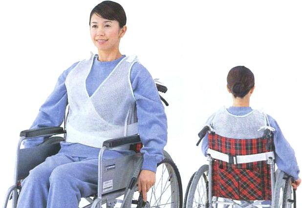 【車椅子関連品 移動 介護用品】まもり帯【車椅子 通気性 メッシュ ムレにくい 便利 安心 快適 医療 看護 介護 自宅介護 施設】