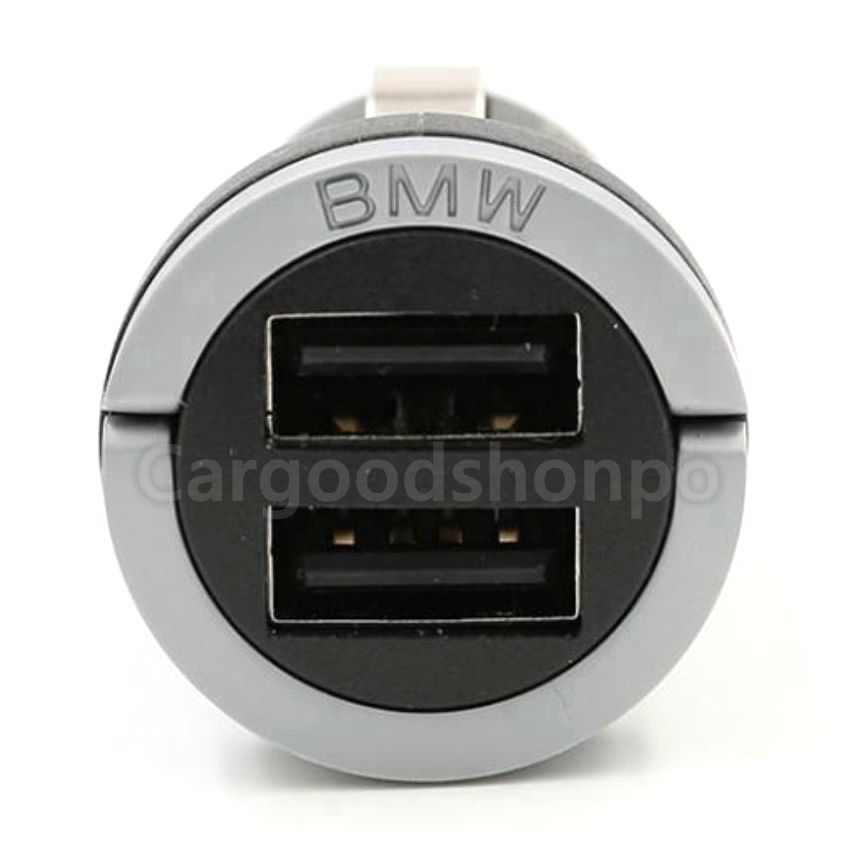 BMW純正デュアルチャージャー65412361367-02 BMW 純正 デュアル USB チャージャー F10F11F20F21F30F31G20G21G30G31X1X2X3X4X5X6X7 急速充電 グッズ スマホ セール商品 購入 シガーソケット
