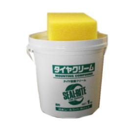 タイヤクリーム 1kg入 ビードクリームスポンジ付き スポンジ付き 1kg入ビードクリーム 人気ブランド 日本シールライト 毎日がバーゲンセール
