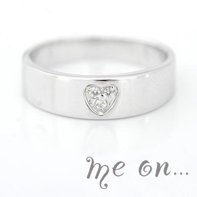 【送料無料】【me on...】力強さと、三位一体の天然ダイヤモンドが放つ存在感【Geryon】天然ダイヤモンド・リング【発送目安:2~3週間】【r】