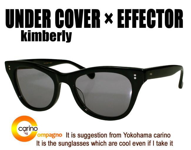 EFFECTOR×UNDER COVER Kimberly 이펙터 킴벌리 effector 안경
