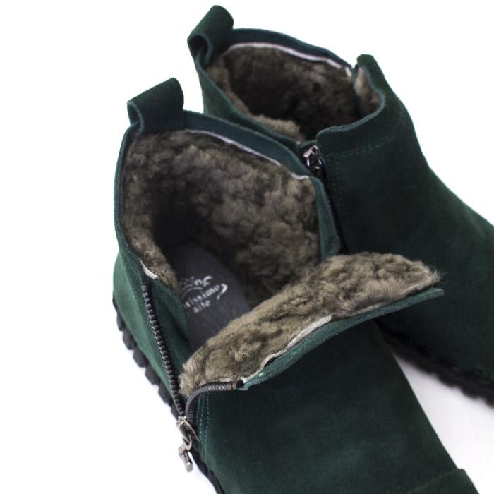 カリシモアルテ 靴 新作 ムートン ブーツ ショート レディース 本革 3E サイドジップ  コンフォート 痛くない 歩きやすい 旅行 サイズ交換サービス M6178-M01