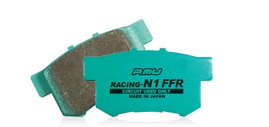 【ラッキーシール対応】【Project μ/プロジェクト・ミュー】 耐久レース専用ブレーキパッドRACING-N1 FFRリア 一台分 _ pmu-RACING-N1 FFR