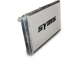 【SYMS/シムス】アルミラジエター for レガシィ BL/BP, アウトバック BPH ターボモデル Y1000RD007