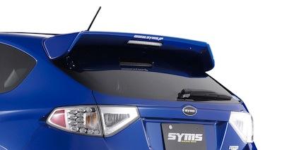 【SYMS/シムス】リヤウイング for インプレッサ GR Y3000GR004