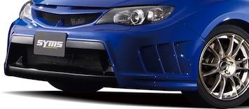 【SYMS/シムス】フロントエアロキット ヘッドライトウォッシャー付モデル用 for インプレッサ GRB Y3000GR005