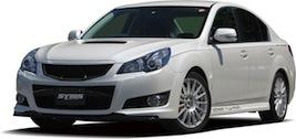 【SYMS/シムス】フロントリップスポイラー Carbon for レガシィ BM/BR Y3000BM103